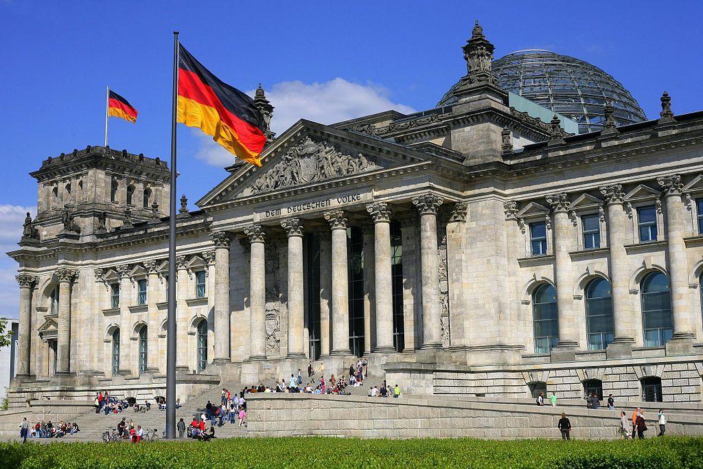 berlin - edificio del reichstag