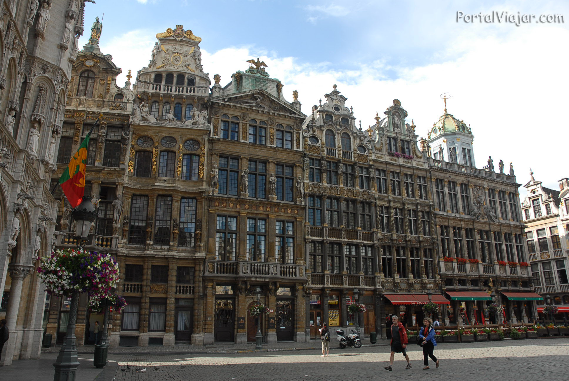 Grand Place - Fachadas (Bruselas)