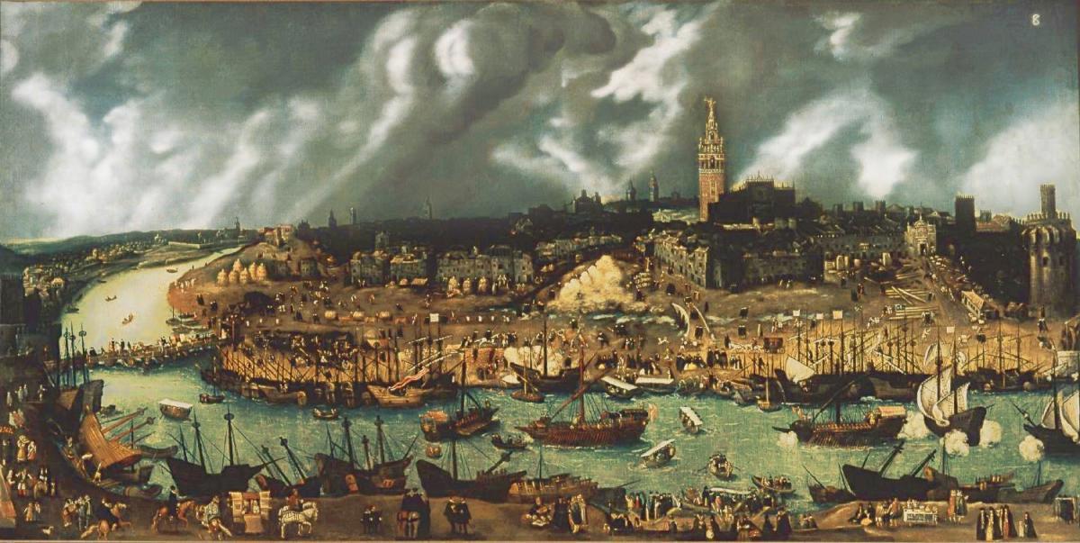 foto historica sevilla - imagen de sevilla en el siglo XVI