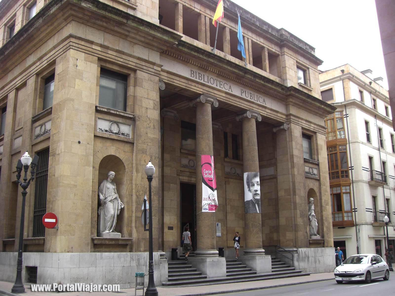 Biblioteca p blica jovellanos gij n portal viajar for Biblioteca iglesia madrid