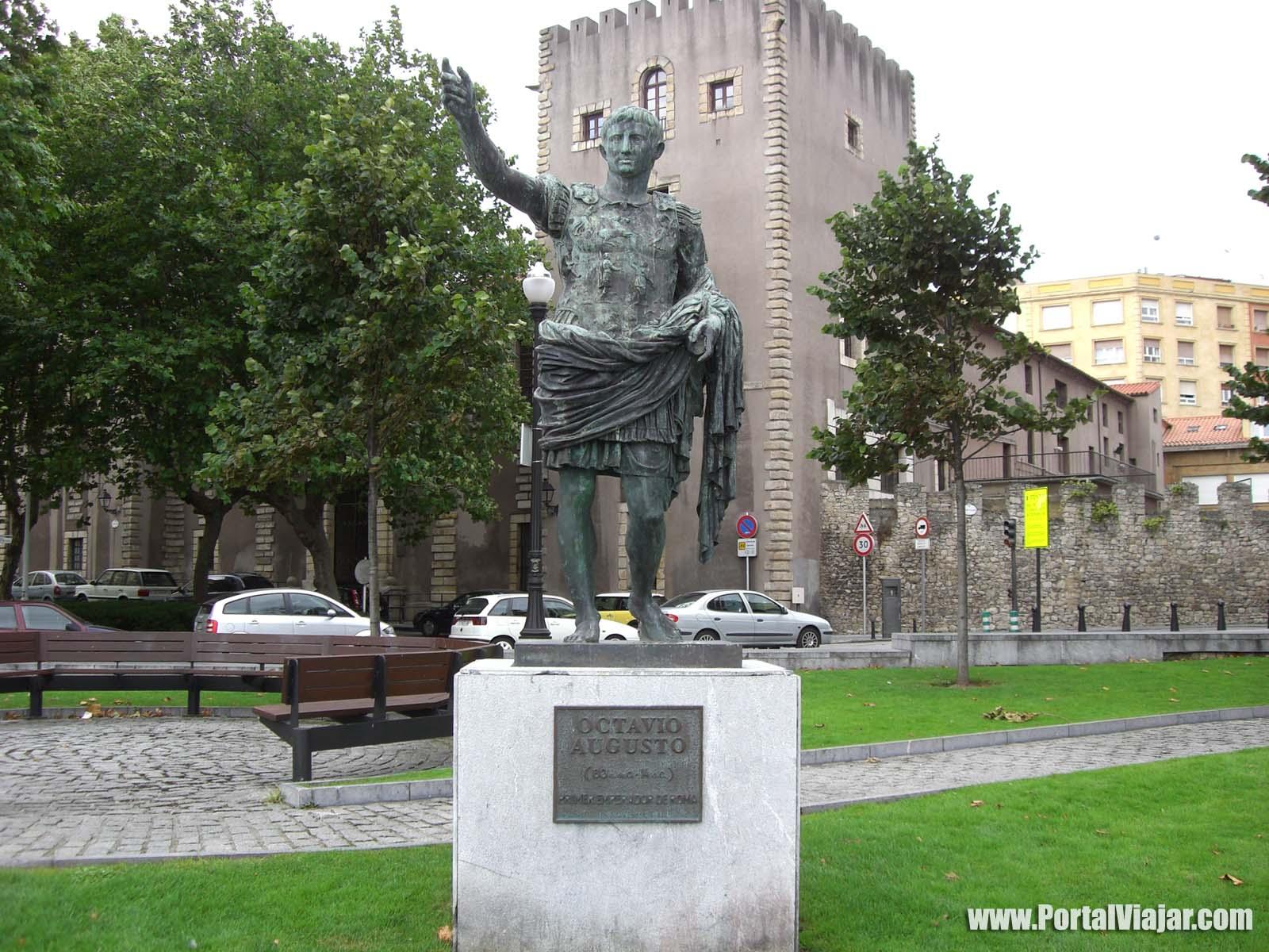 gijon 29 - monumento a octavio augusto