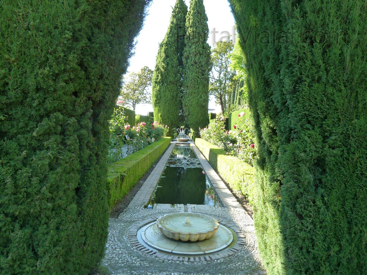 Granada 118 alhambra jardines del generalife portal for Jardines alhambra