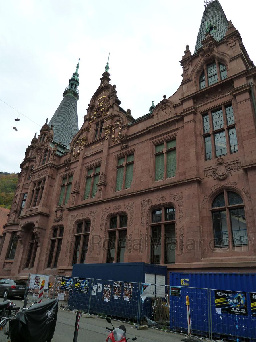 heidelberg 99 - biblioteca de la universidad