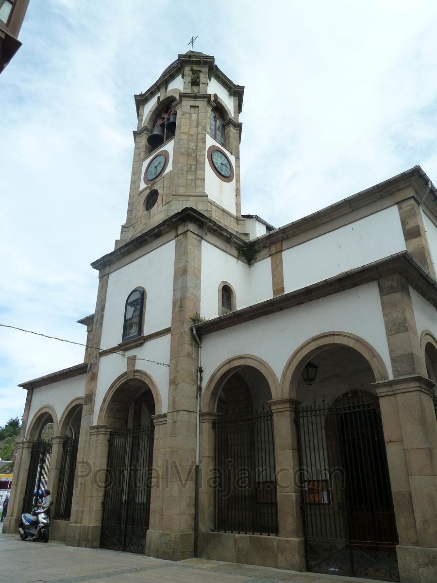 luarca 18 - iglesia de santa eulalia