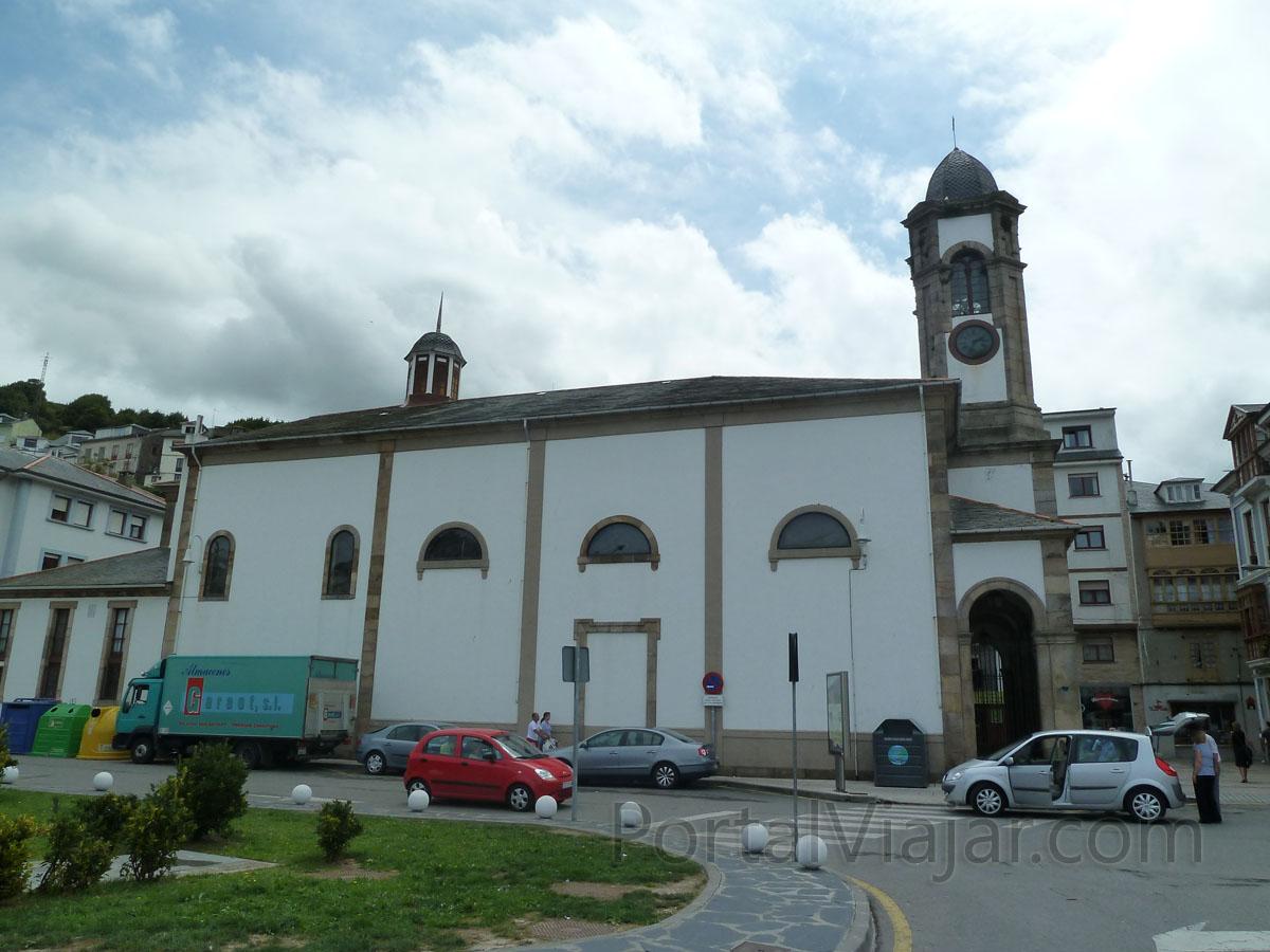luarca 21 - iglesia de santa eulalia