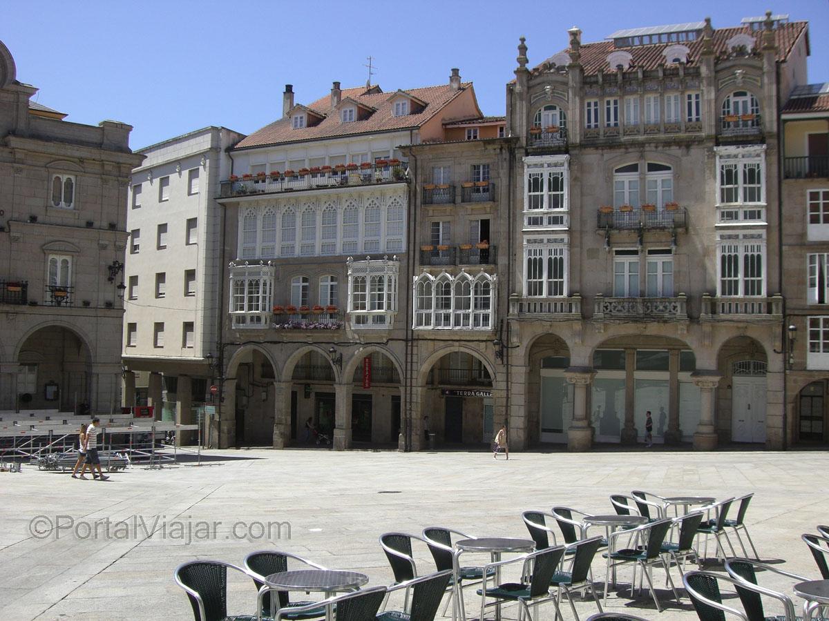 Plaza Mayor - Fachadas (Ourense)