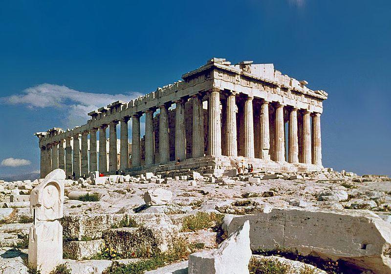 «The Parthenon in Athens» de Steve Swayne - File:O Partenon de Atenas.jpg, originally posted to Flickr as The Parthenon Athens. Disponible bajo la licencia CC BY 2.0 vía Wikimedia Commons - https://commons.wikimedia.org/wiki/File:The_Parthenon_in_Athens.jpg#/media/File:The_Parthenon_in_Athens.jpg