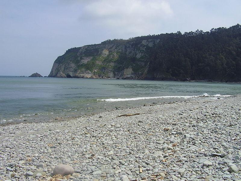 playa de la concha de artedo soto de luiña