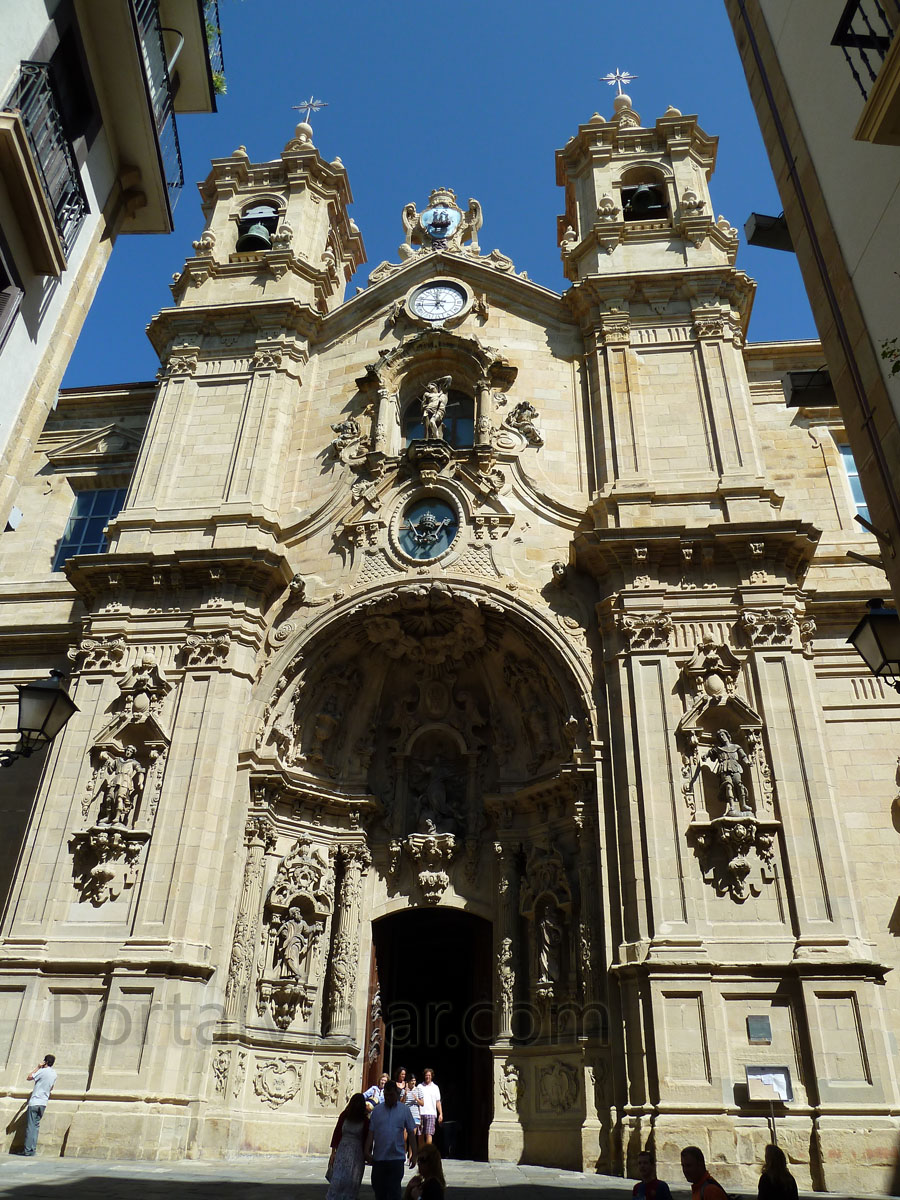 san sebastian 74 - basilica de santa maria del coro