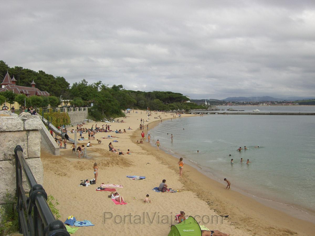 Santander - Playa de la Magdalena