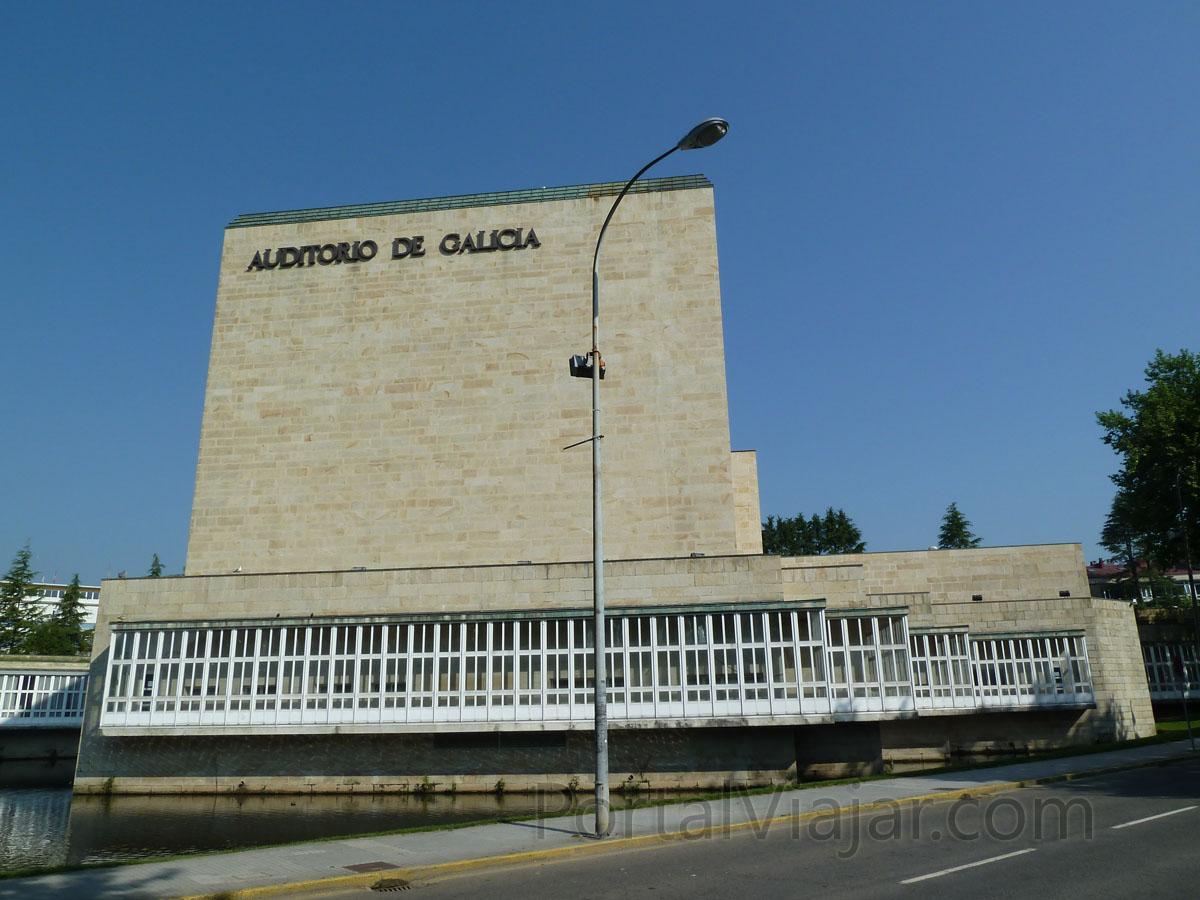 santiago de compostela 311 - auditorio de galicia