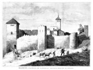 santorcaz - castillo de torremocha (dibujo de 1888)