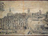 vitoria-gasteiz - foto historica - grabado antiguo