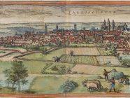 «Braun Valladolid UBHD» de Georg Braun; Frans Hogenberg - Georg Braun; Frans Hogenberg: Civitates Orbis Terrarum, Band 1, 1572 (Ausgabe Beschreibung vnd Contrafactur der vornembster Stät der Welt, Köln 1582; [VD16-B7188)Universitätsbibliothek Heidelberghttp://diglit.ub.uni-heidelberg.de/diglit/braun1582bd1. Disponible bajo la licencia Public domain vía Wikimedia Commons - http://commons.wikimedia.org/wiki/File:Braun_Valladolid_UBHD.jpg#mediaviewer/Archivo:Braun_Valladolid_UBHD.jpg