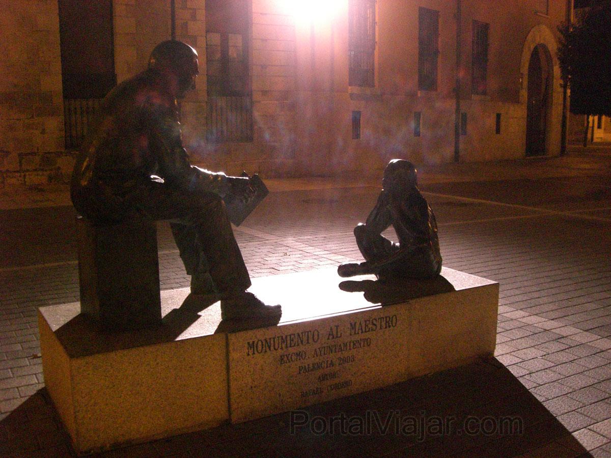 Palencia - Monumento al Maestro