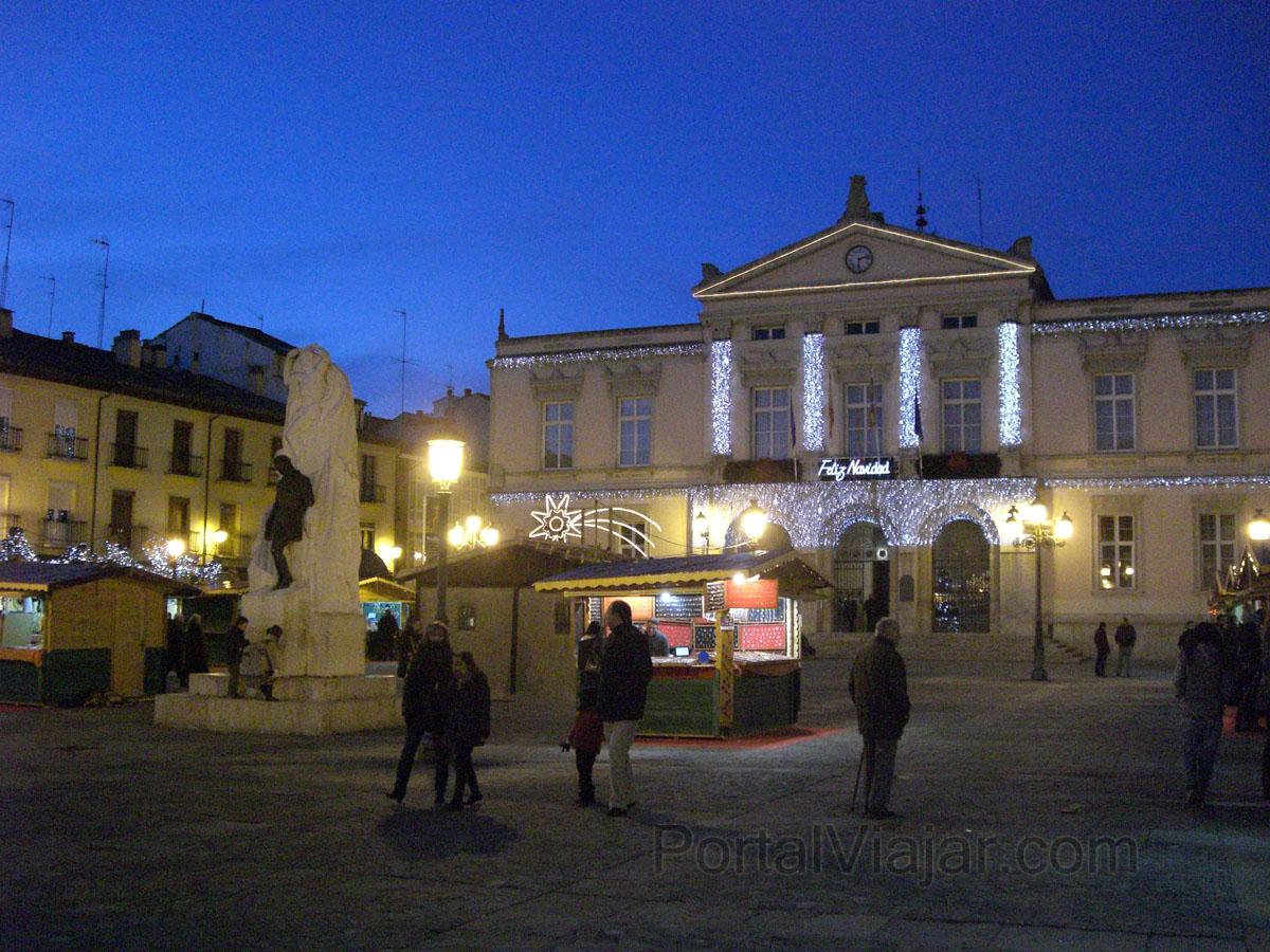 Palencia - Ayuntamiento - Plaza Mayor