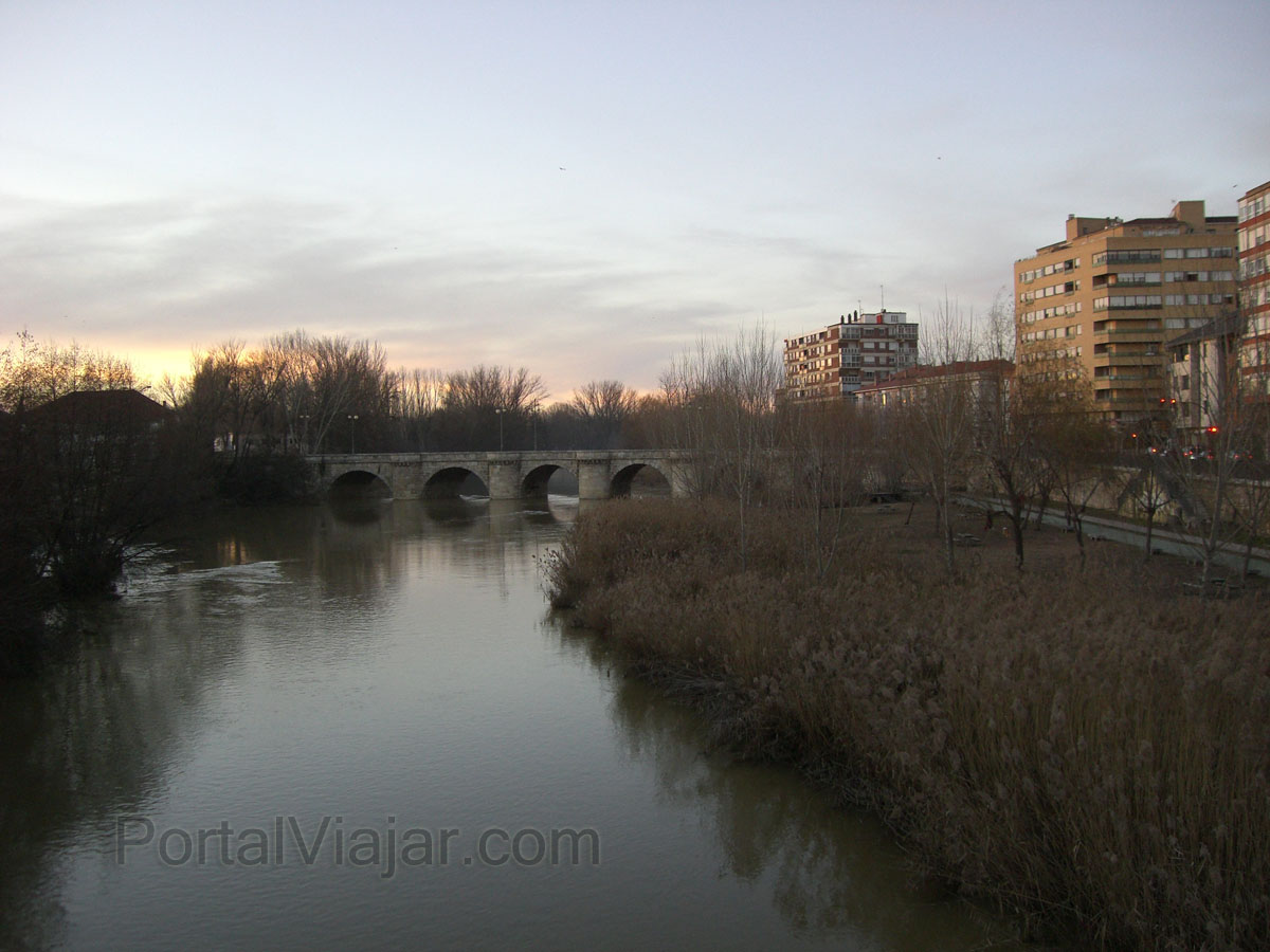 Puente Mayor del Río Carrión (Palencia)