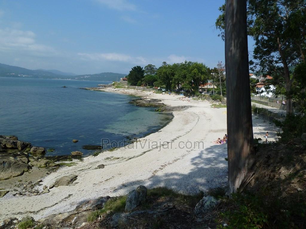 playa de a telleira porto do son 2