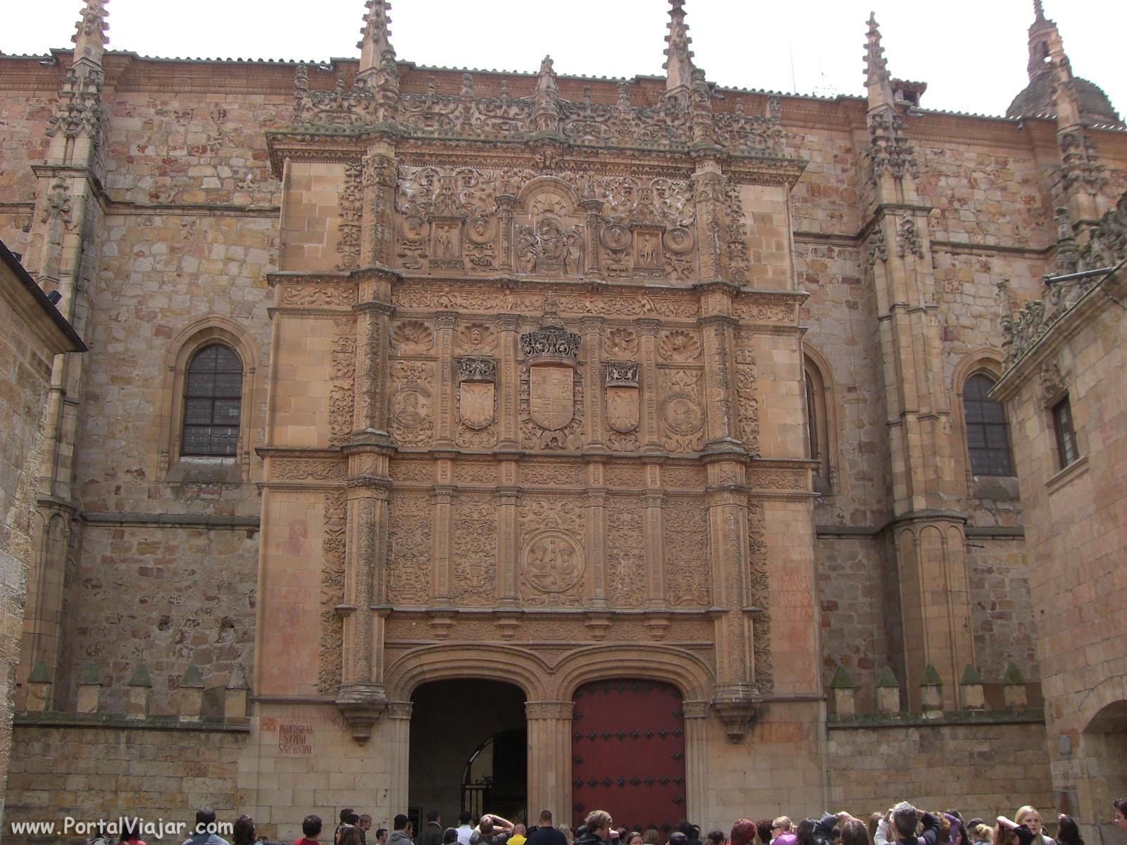 Fachada de la Universidad (Salamanca)