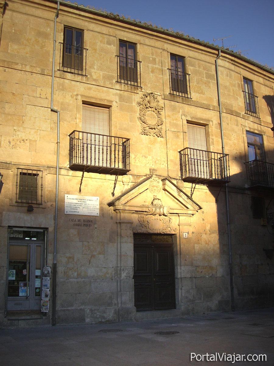 Casa del Regidor Ovalle Prieto (Salamanca)