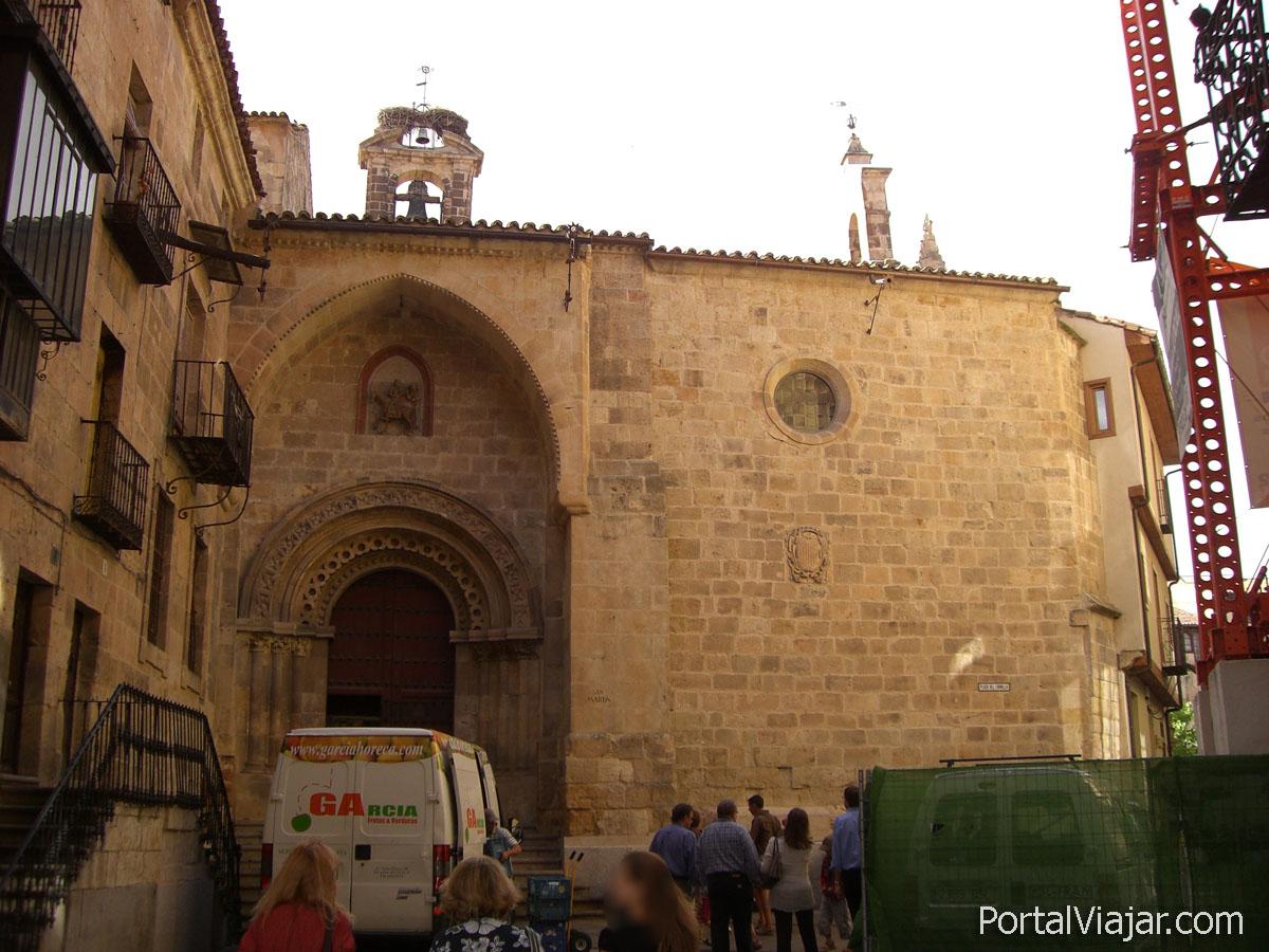 salamanca 94 - iglesia de san martin (plaza del corrillo)