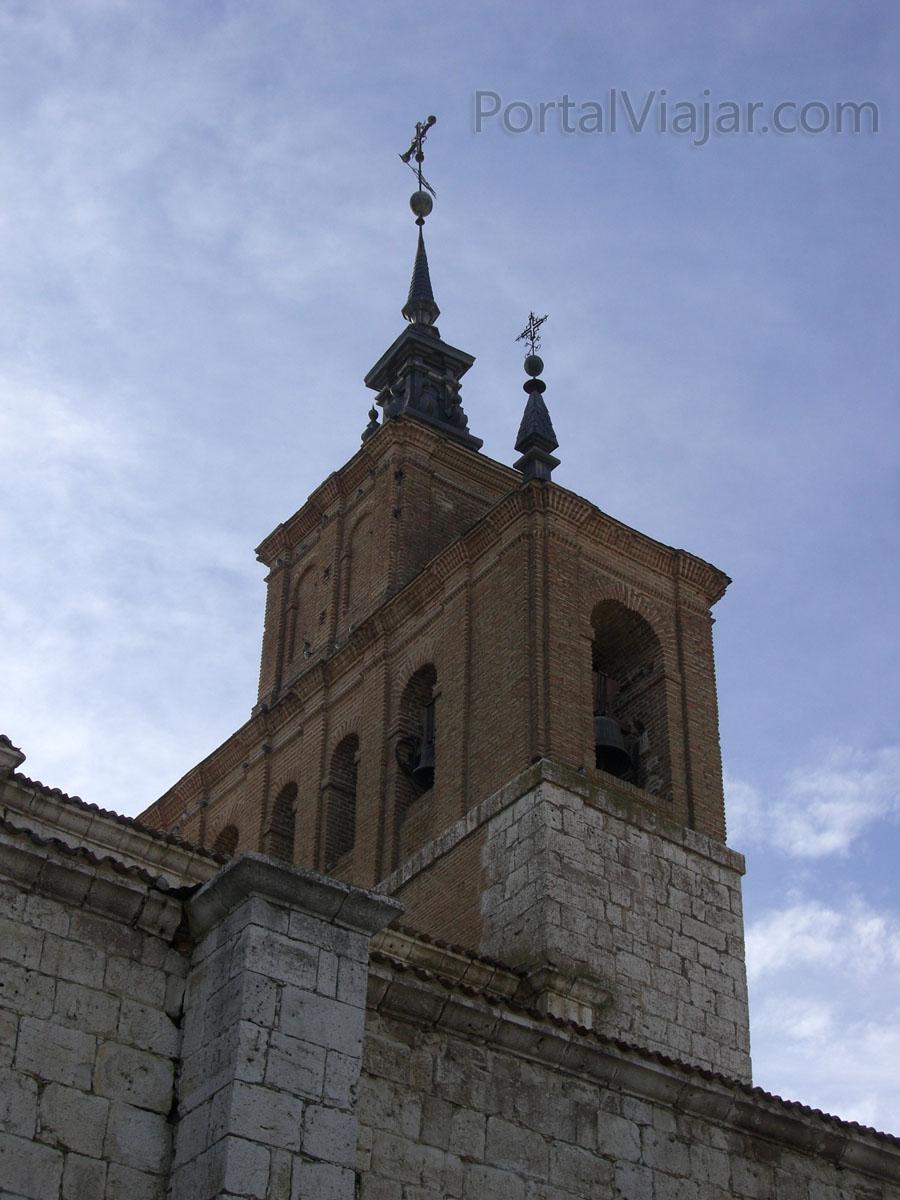 Iglesia de San Pedro - Espadaña (Tordesillas)