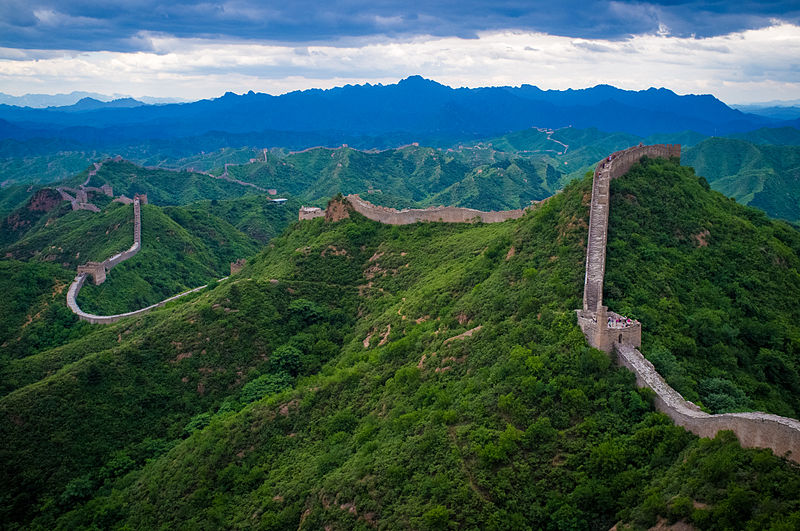 """The Great Wall of China at Jinshanling"" by Severin.stalder - Own work. Licensed under Creative Commons Attribution-Share Alike 3.0 via Wikimedia Commons - http://commons.wikimedia.org/wiki/File:The_Great_Wall_of_China_at_Jinshanling.jpg#mediaviewer/File:The_Great_Wall_of_China_at_Jinshanling.jpg"