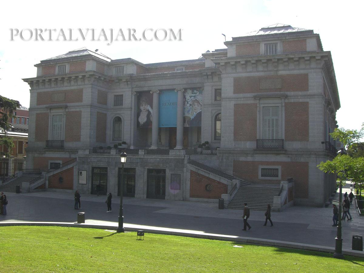 Museo del Prado - Entrada de Felipe IV (Madrid)