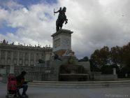madrid 38 - estatua ecuestre de Felipe IV