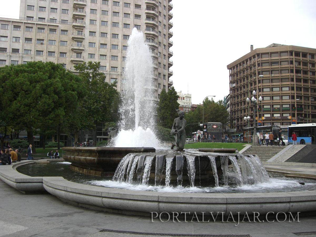 Fuente de Plaza de España (Madrid)