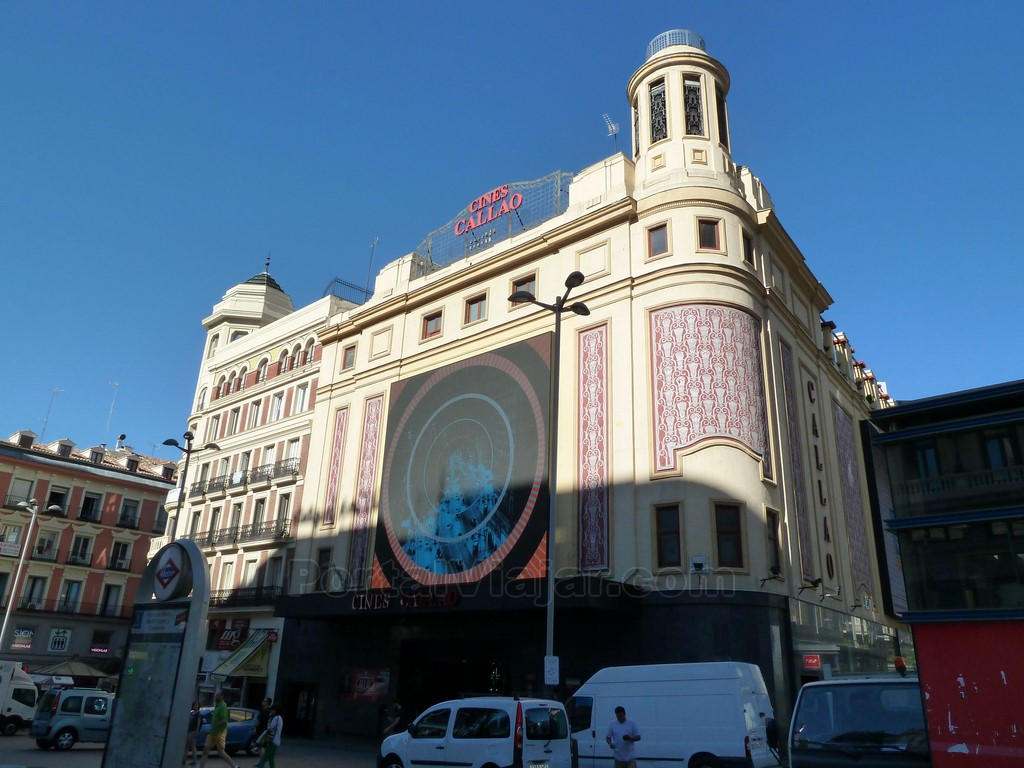 madrid edificio cine callao