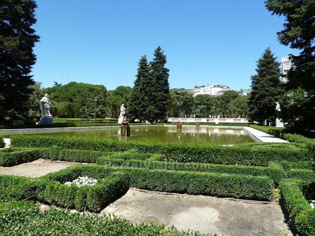 jardines de sabatini madrid portal viajar
