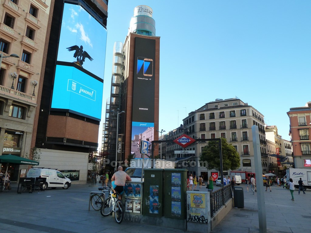 madrid - plaza de callao