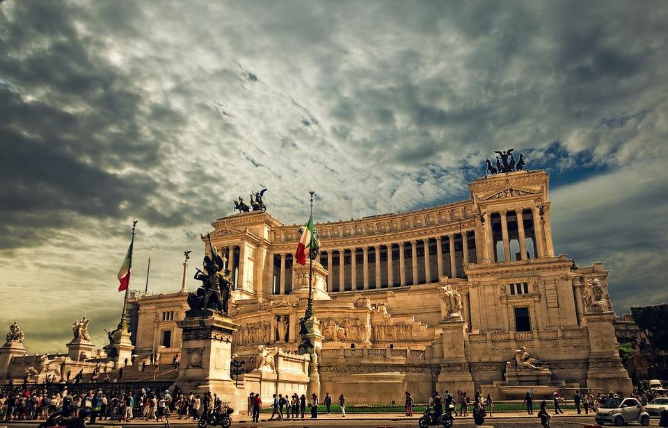 roma - monumento a victor manuel II