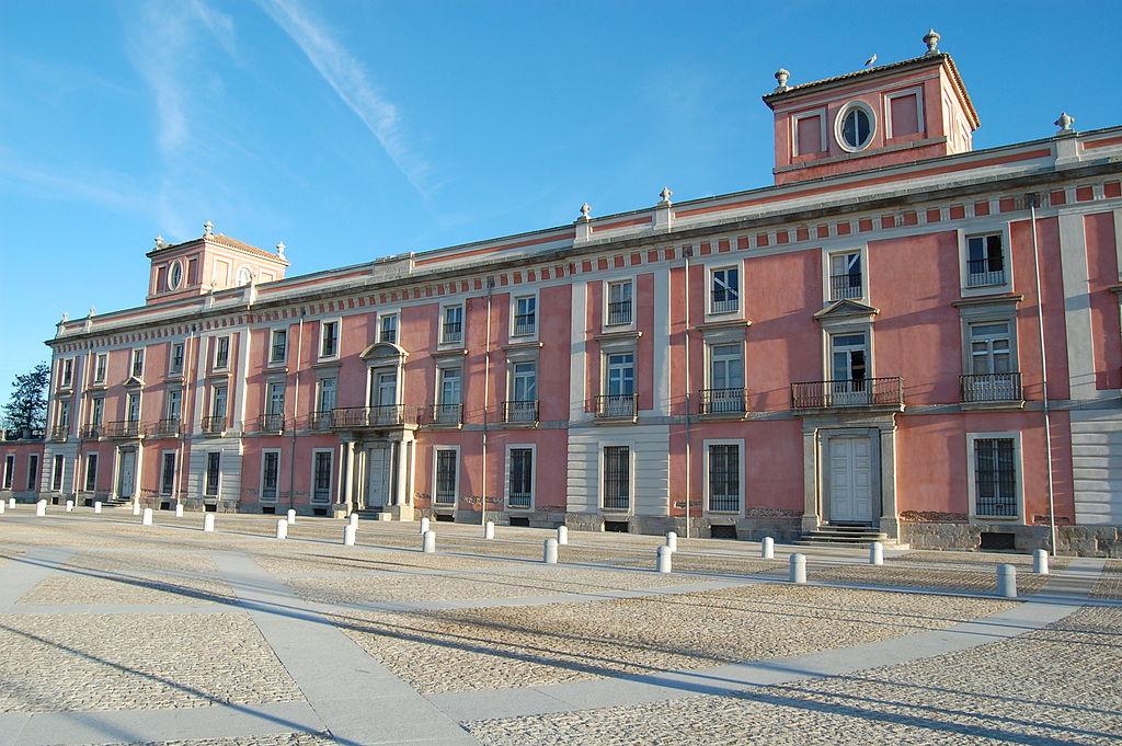 Palacio del infante don Luis (Boadilla del Monte) - Fachada