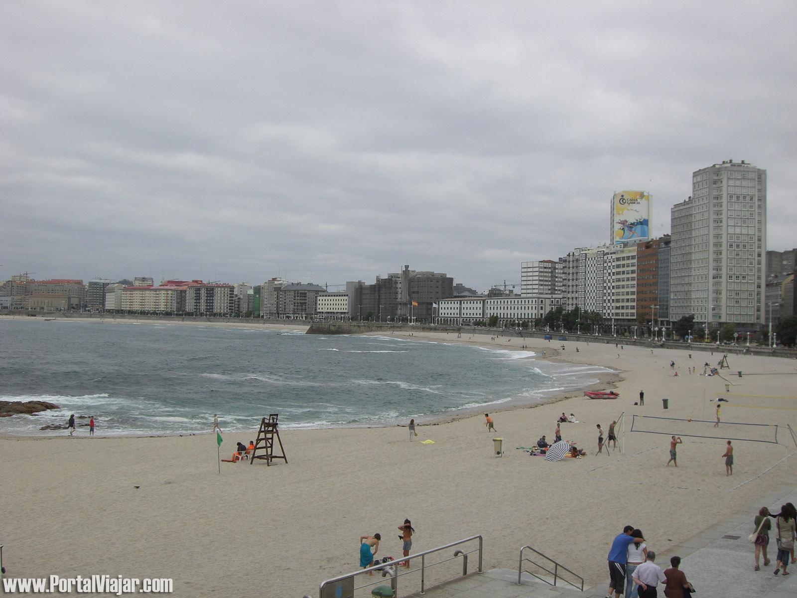 Playa de Riazor (A Coruña)