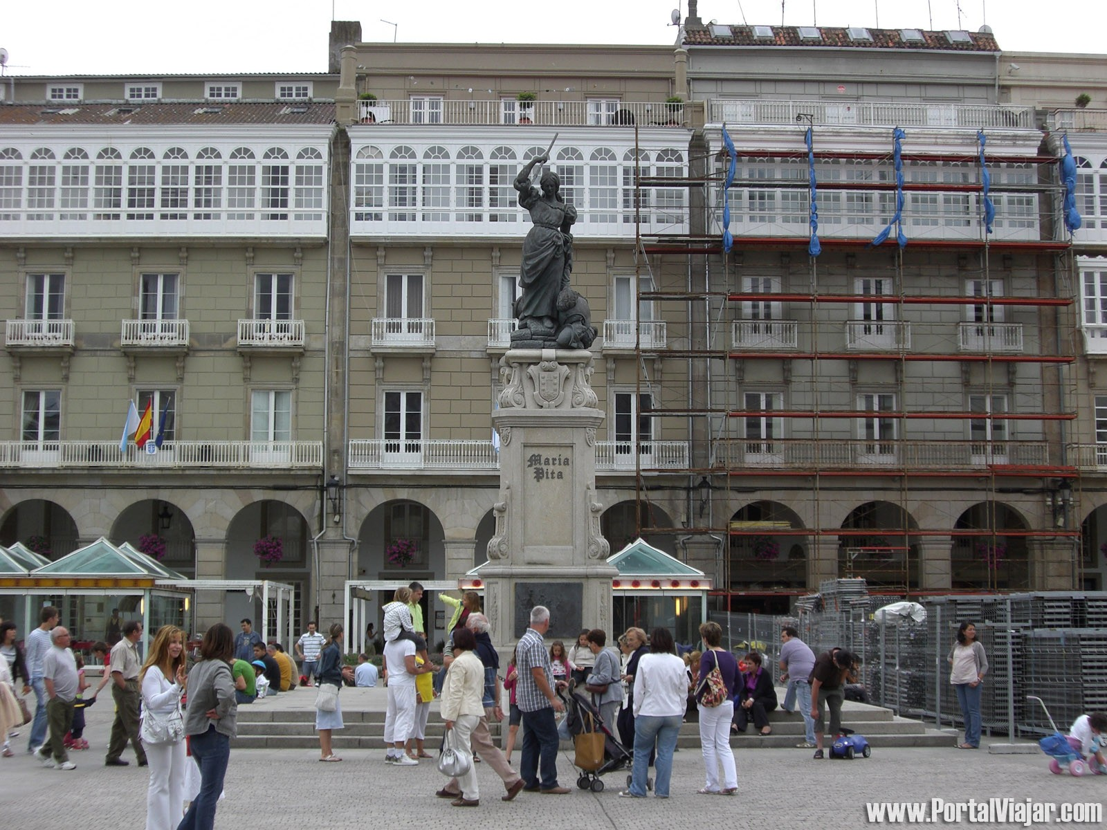Monumento a María Pita (Plaza de María Pita) (A Coruña)