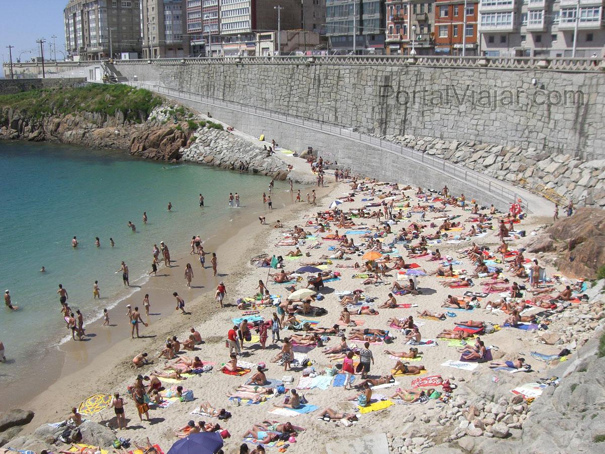 Playa Mataderos (A Coruña)