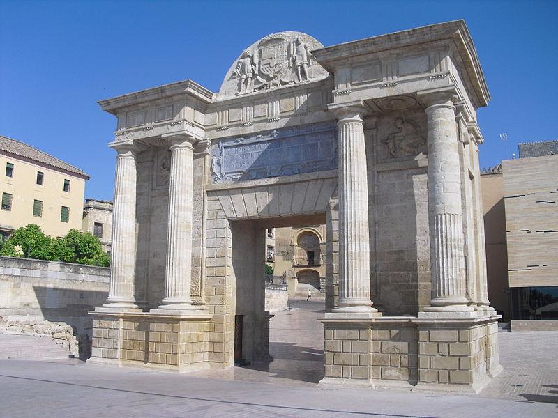 arco del triunfo o puerta del puente cordoba