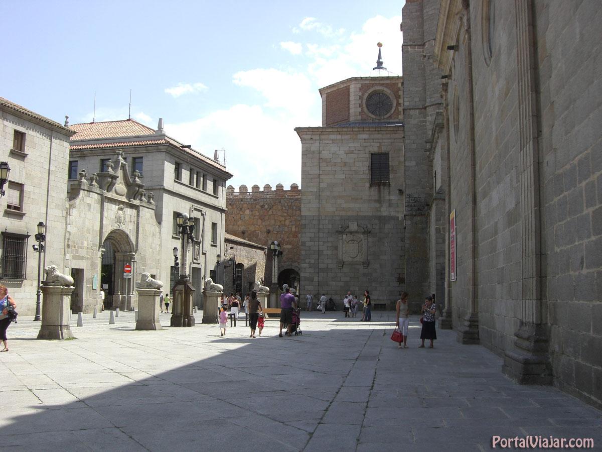 Plaza de la Catedral (Ávila)