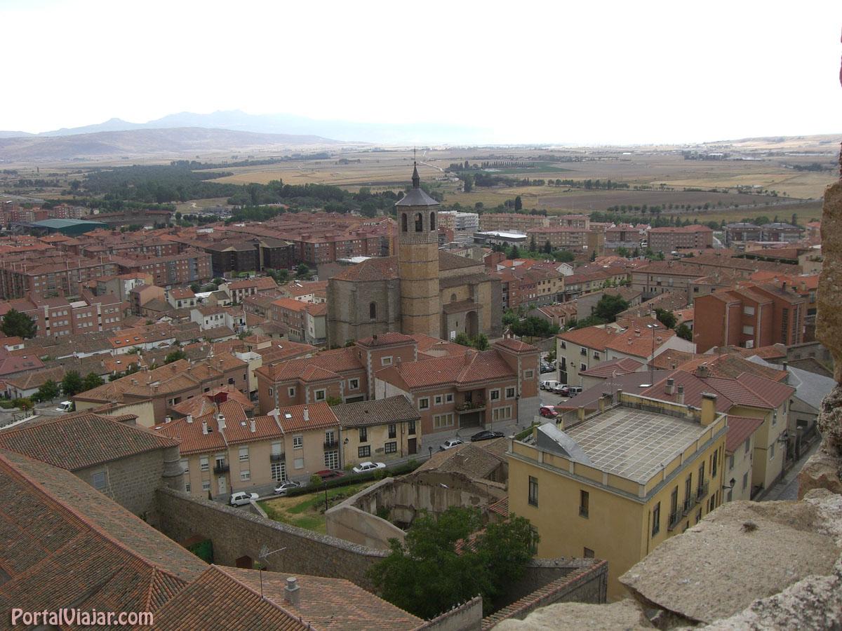 Iglesia de Santiago y Valle Ambles (Ávila)