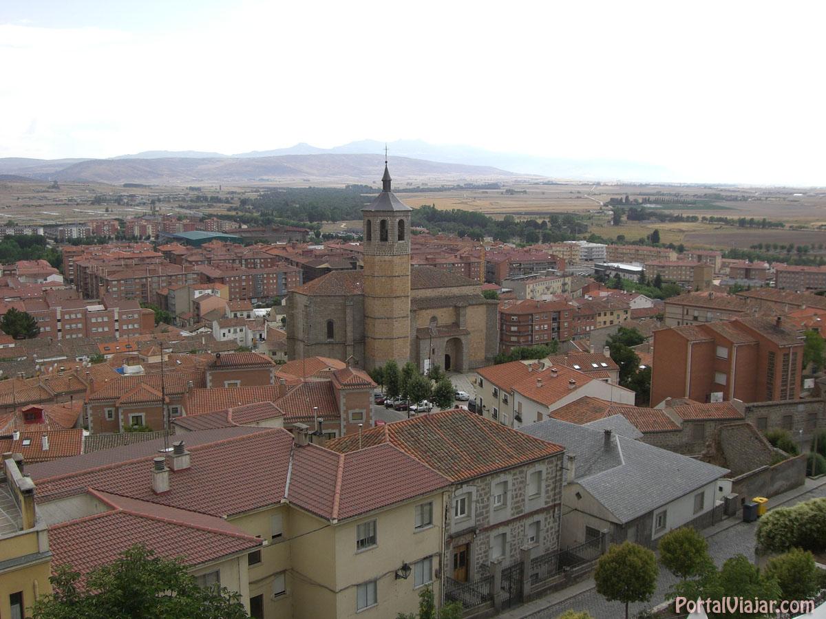 Iglesia de Santiago y Valle (Ávila)