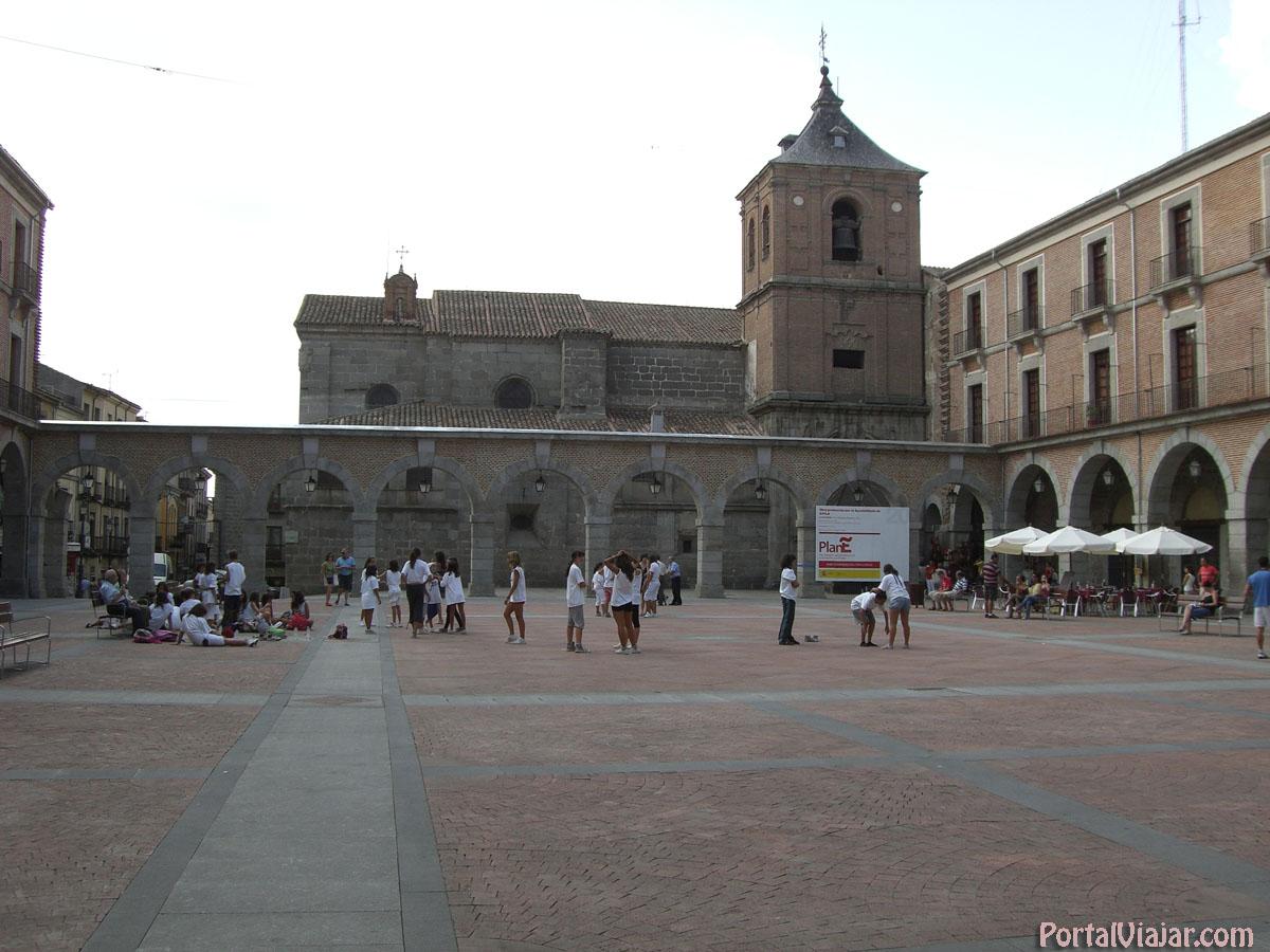Plaza del Mercado Chico (Ávila)