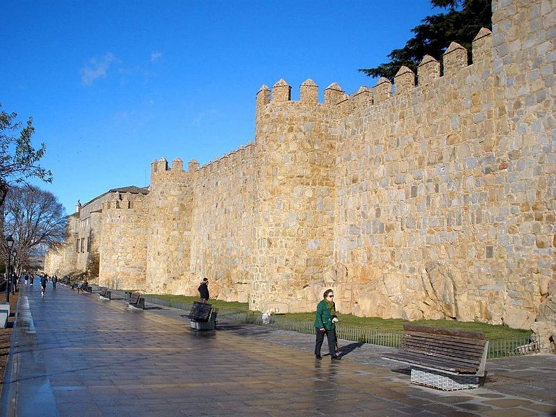 Ávila: Paseo del Rastro y Murallas