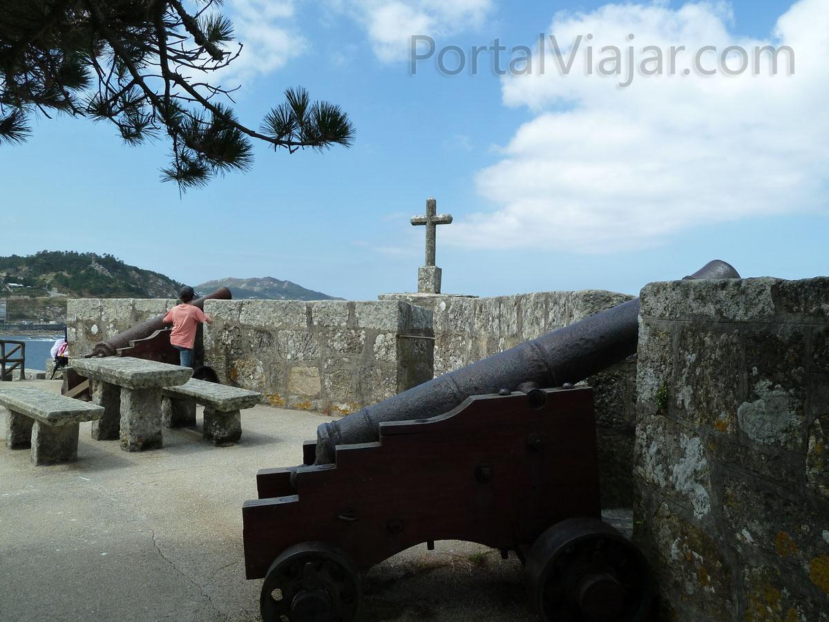 Fortaleza de Monterreal (Baiona) - Batería de Santiago
