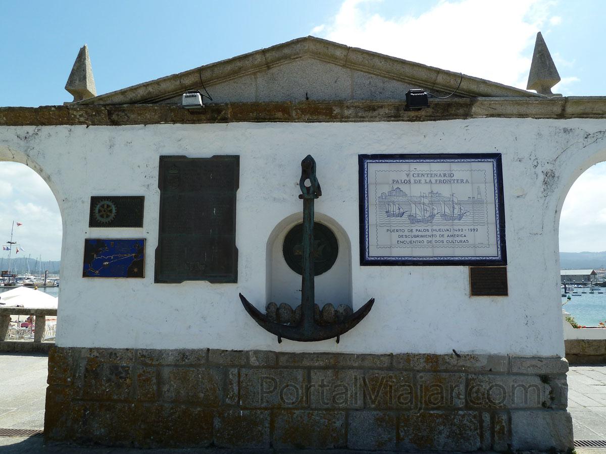Monumento conmemorativo a la Arribada (Baiona)