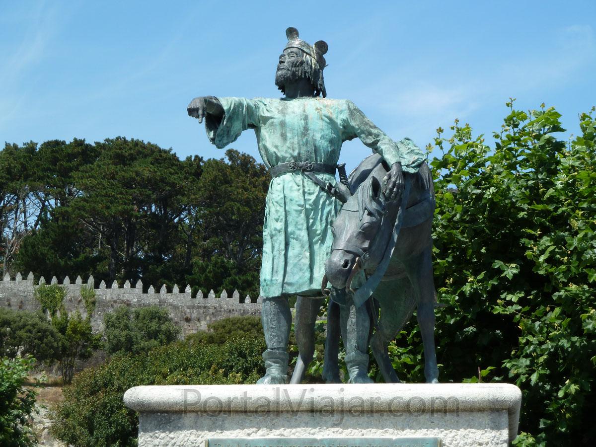 Monumento a Alfonso IX (Baiona)