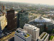 berlin - postdamer platz vista aerea