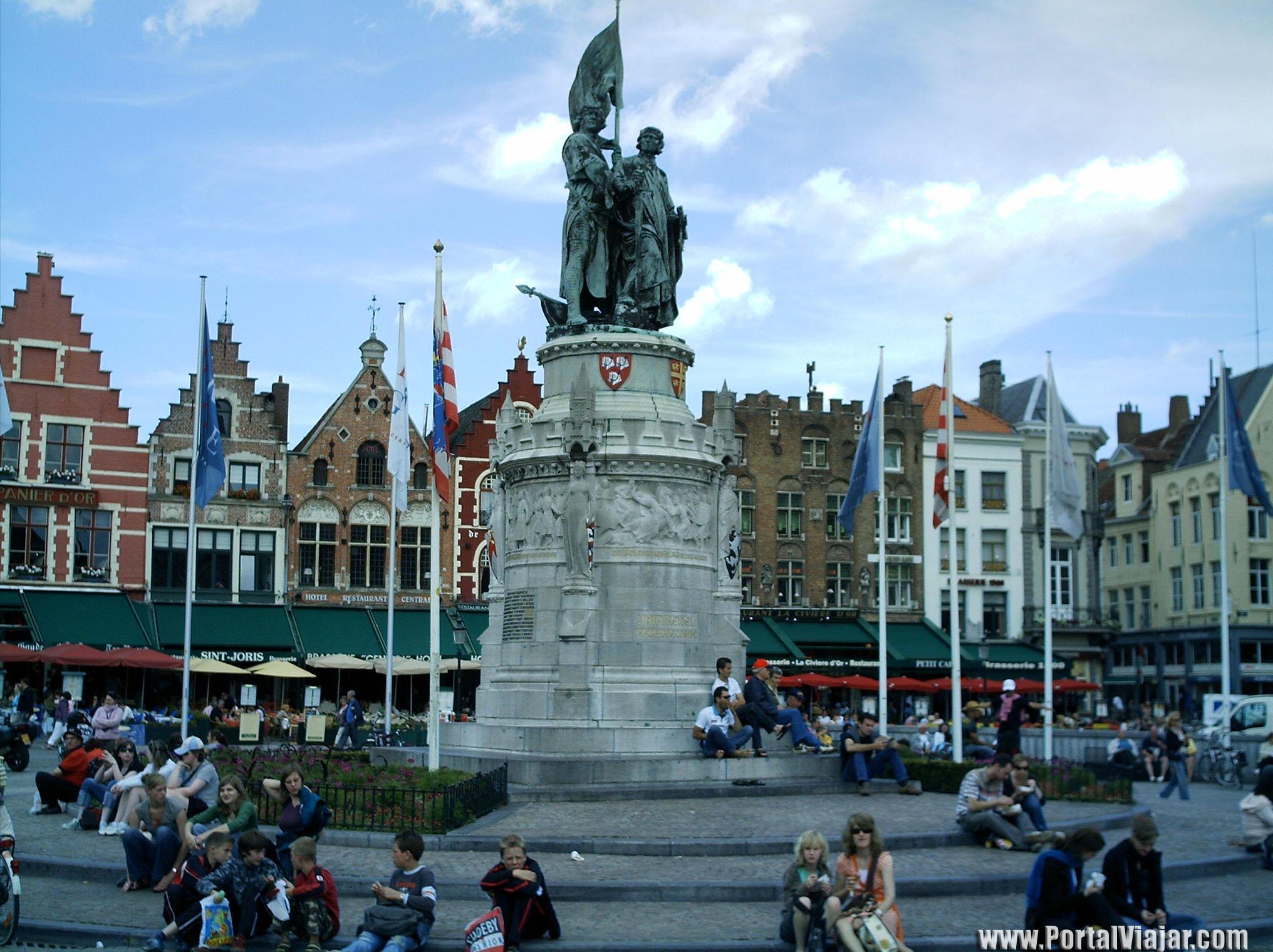 Brujas - Plaza del Mercado