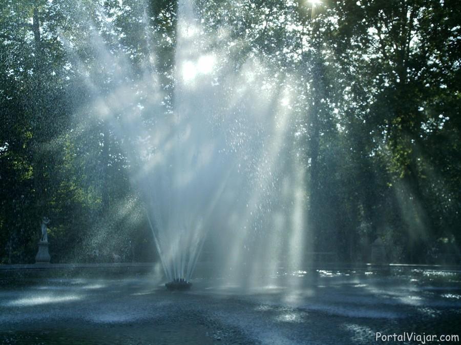 Fuente en Parque de Bruselas